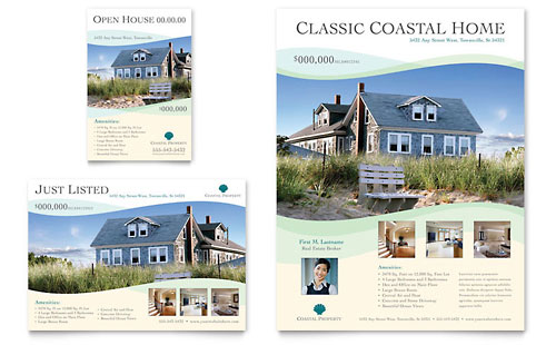 real estate brochure template free download real estate marketing