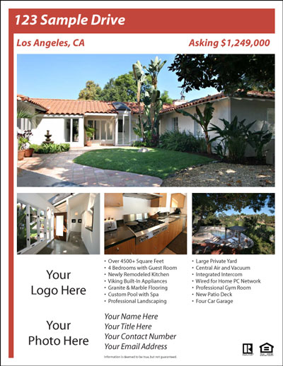 real estate brochure templates free download free real estate