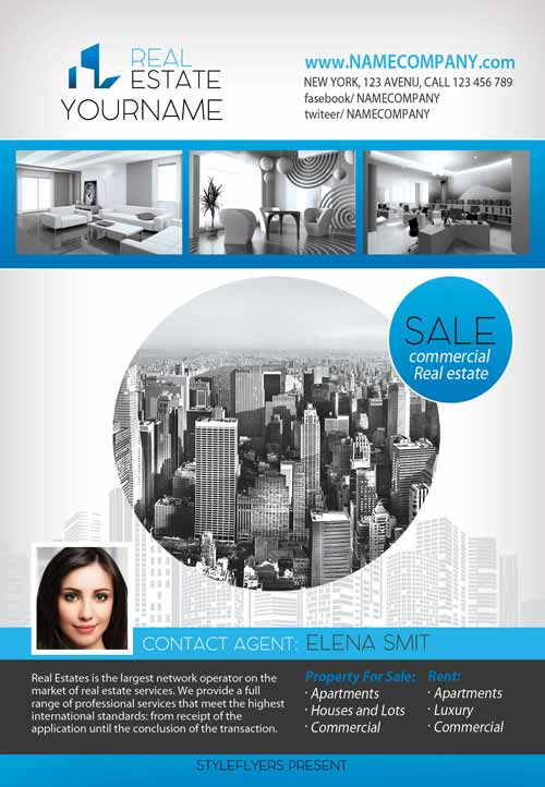 FreePSDFlyer | Download the best Free Real Estate Flyer Templates