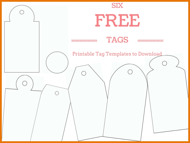 5+ gift tags template word | points of origins