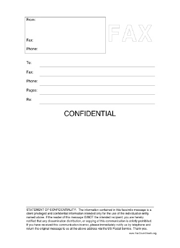 7 Hipaa Fax Confidentiality Statement   cannabislounge.co