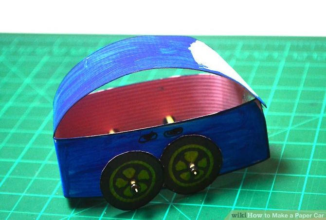 How to Make a Paper Car (with Pictures)   wikiHow
