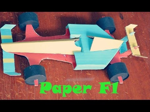 how to make paper car   YouTube