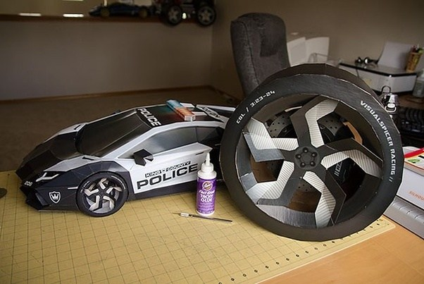 How to make a car out of paper   Quora
