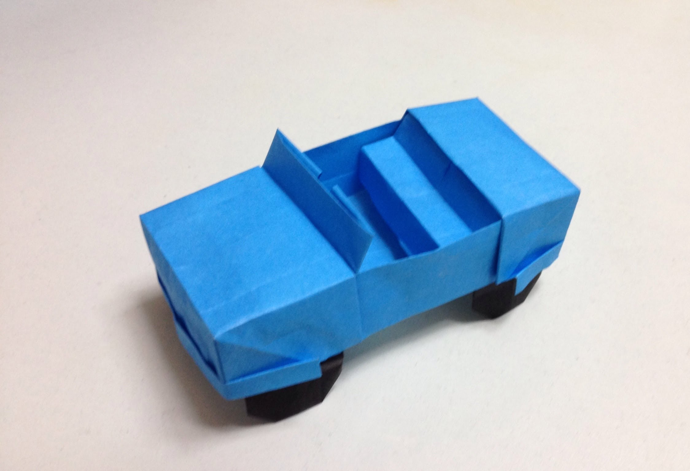 How to Make a Paper Car   Electric Powered Car   Easy to Build