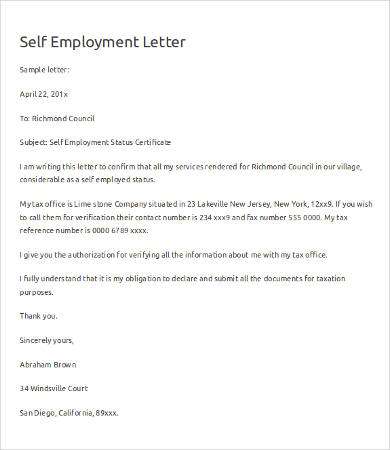 Verification of Employment Letter   12+ Free Word, PDF Documents