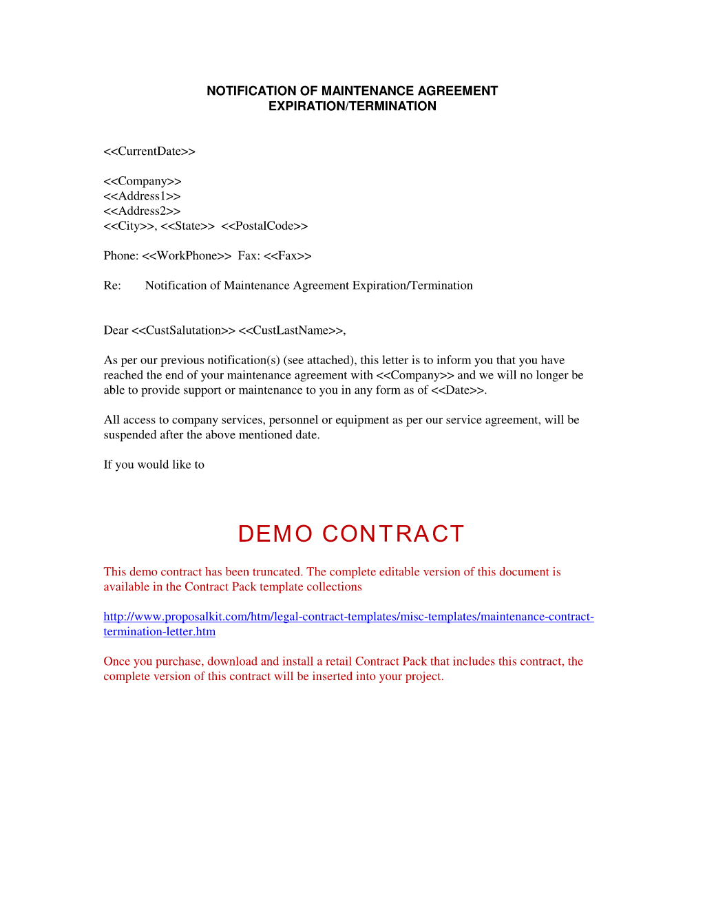 Contract Termination Letter Samples Zoro Blaszczak Fascinating