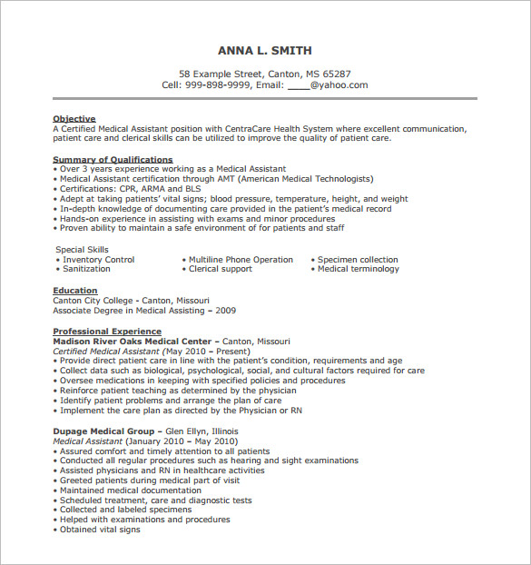 Medical Assistant Resume Medical Support Assistant Resume Luxury
