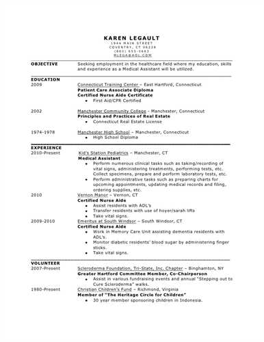 Medical Support Assistant Resume 26313 | ifest.info