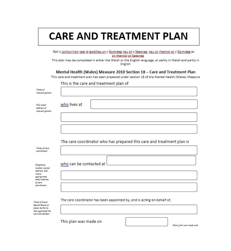 25 Images of Behavioral Health Treatment Plan Template | infovia.net