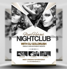 Night Club Party Flyer Template | DOWNLOAD  graphicriver.net… | Flickr