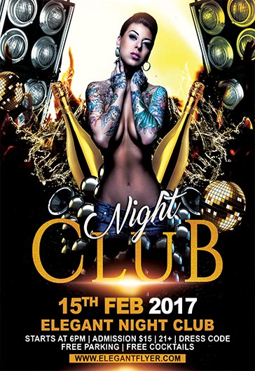 Flyers Club Night Club Flyer Templatesmberproco   Spulsa Idea
