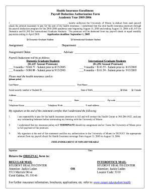 Payroll Deduction Form Template   10+ Free Sample, Example, Format