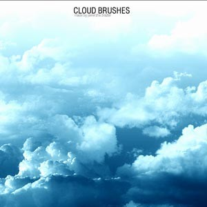 10 Free Cloud Brushes   Photoshop brushes