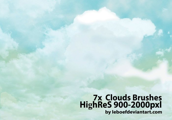 cloud brush photoshop   Physic.minimalistics.co