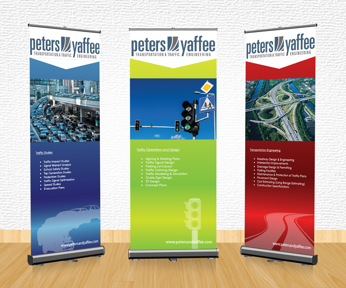 Exhibition design, roll up banners, pop up banners