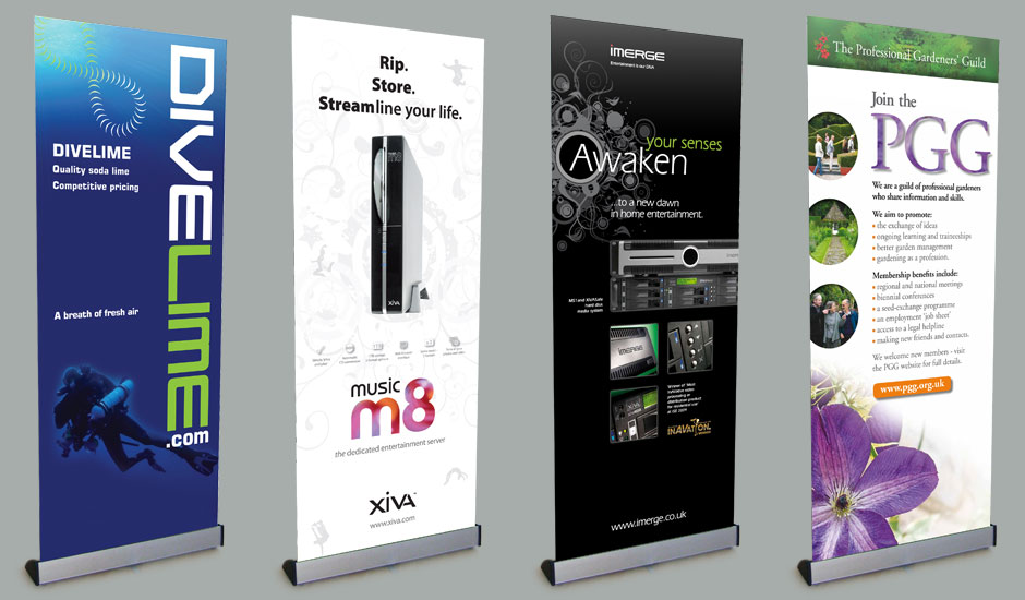 Amazing Pull Up Banner Design Cheshire London Cambridge Stand Up