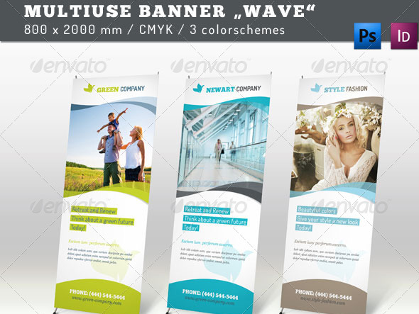 pop up banner designs