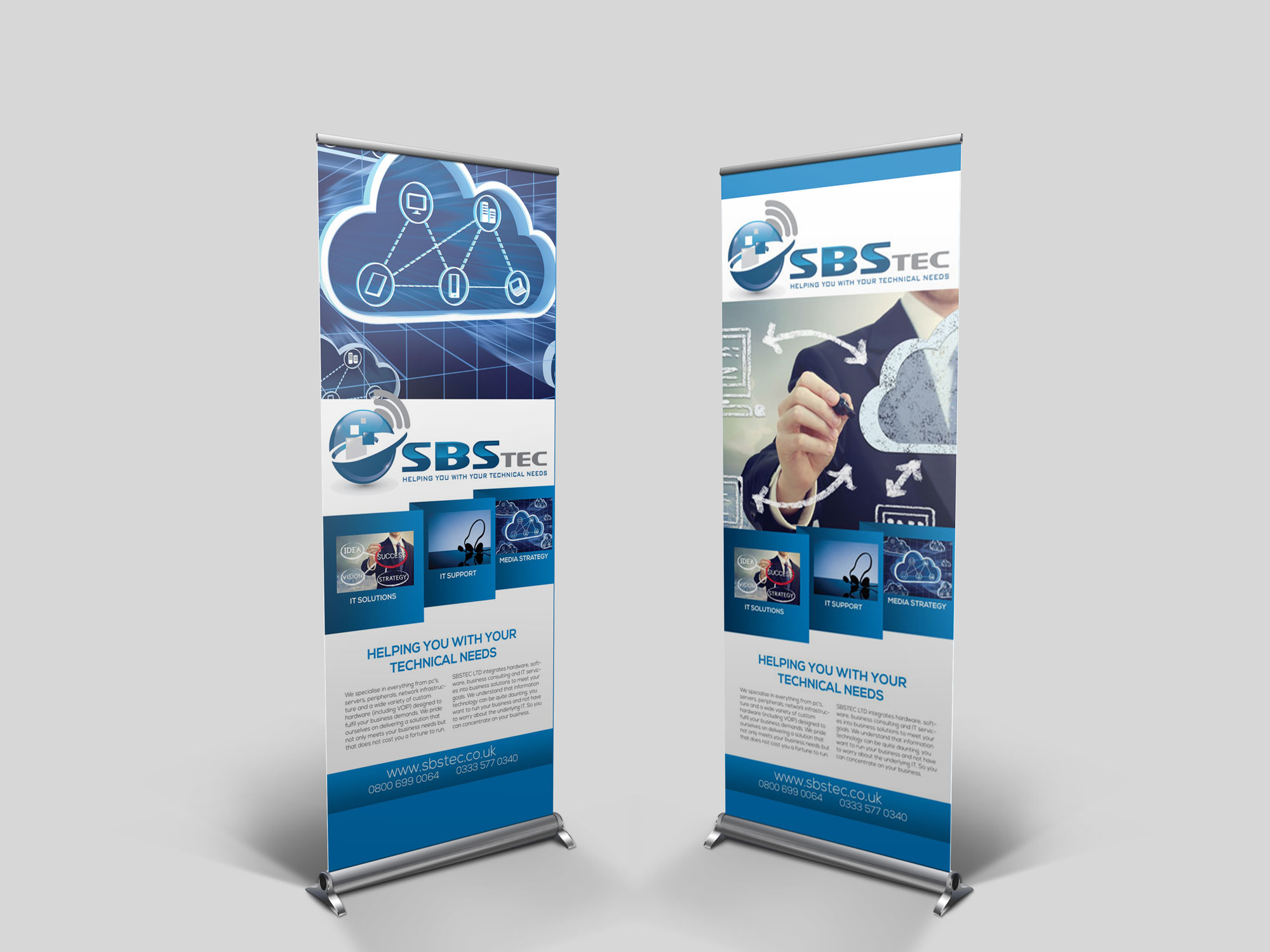 Roller Banner Pop up Banner Print and Design Manchester » FlyKick
