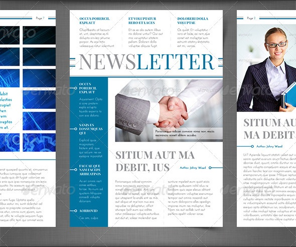 print newsletter templates make a newsletter create newsletters