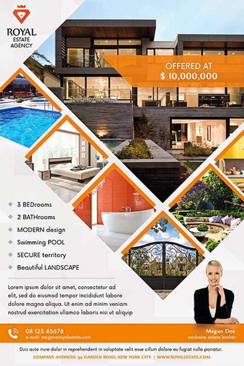 brochure templates for real estate free download download the best