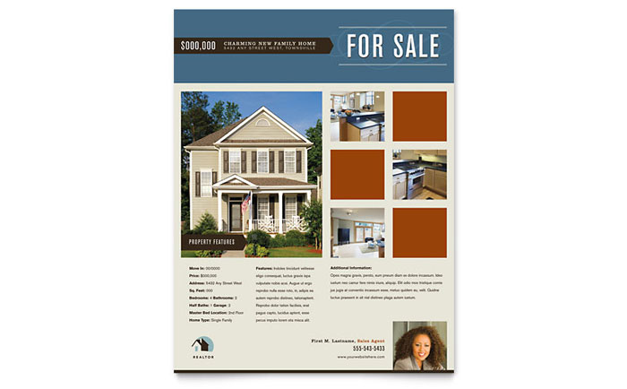 real estate brochure template real estate brochures examples