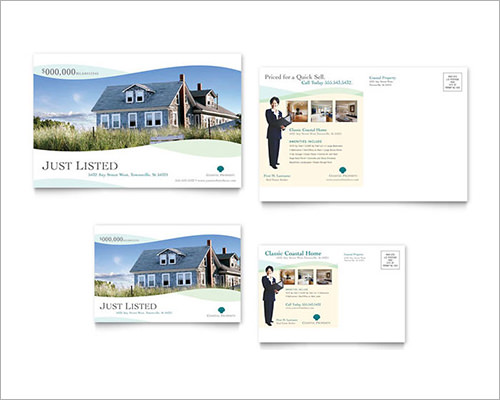 Realtor Postcard Templates Sample Real Estate Marketing Postcard