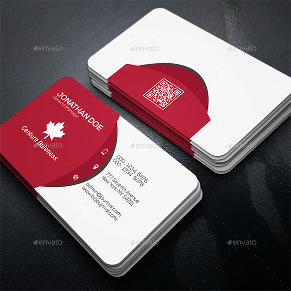 21+ Red Business Cards – Free Printable PSD, EPS, Word, PDF Format
