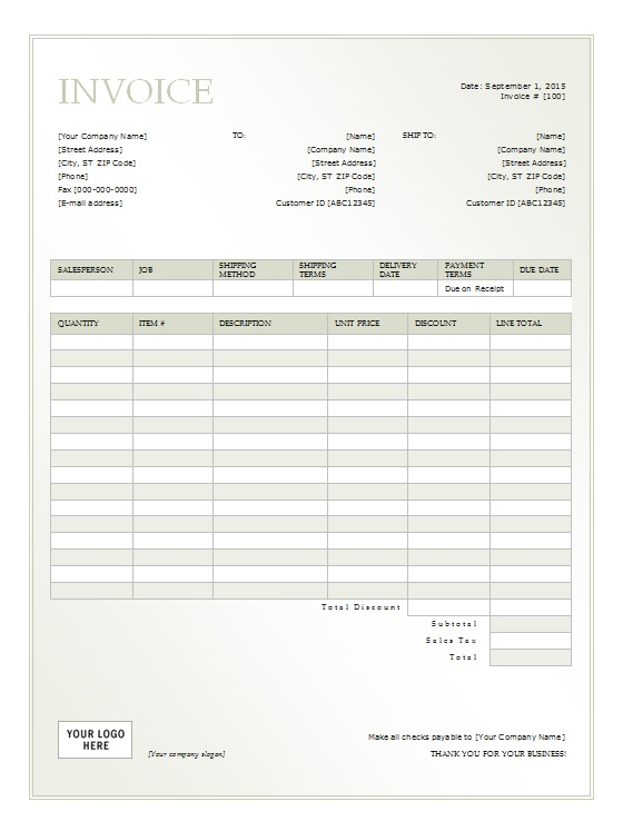 rent invoice template pdf rental invoice template 5 free word pdf
