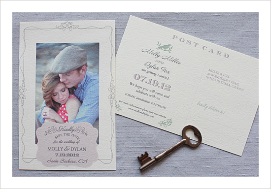 free ideas save the date postcard templates beautiful real photo