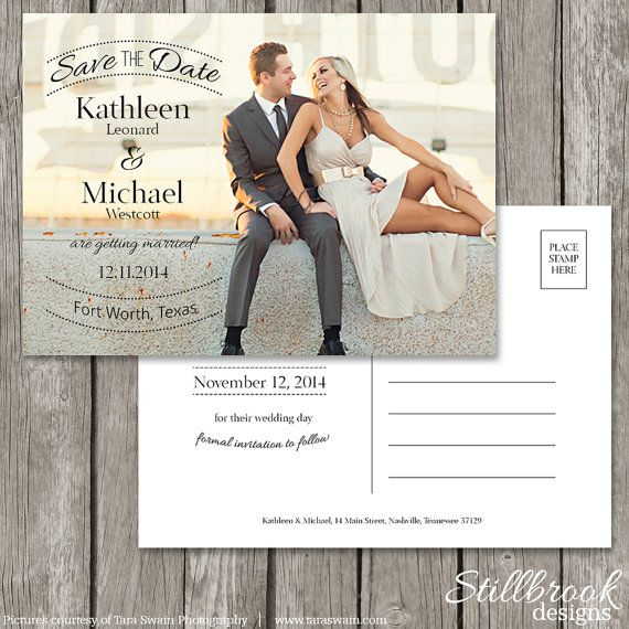 Wedding Save The Date Card Templates Top 10 Sample Save The Date