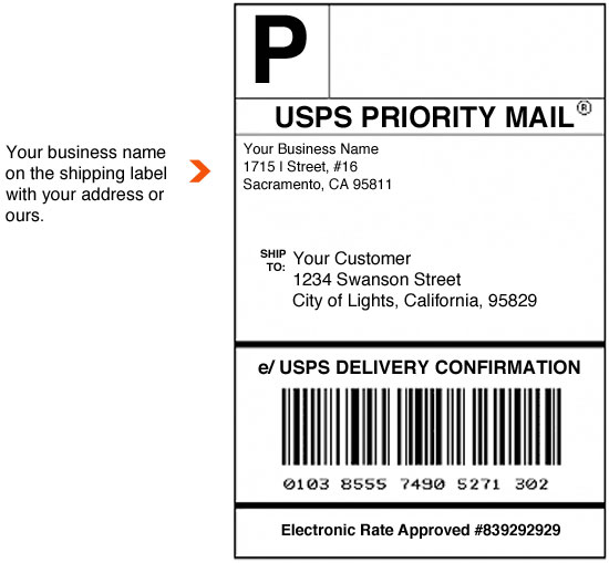 shipping label with return address template return shipping label