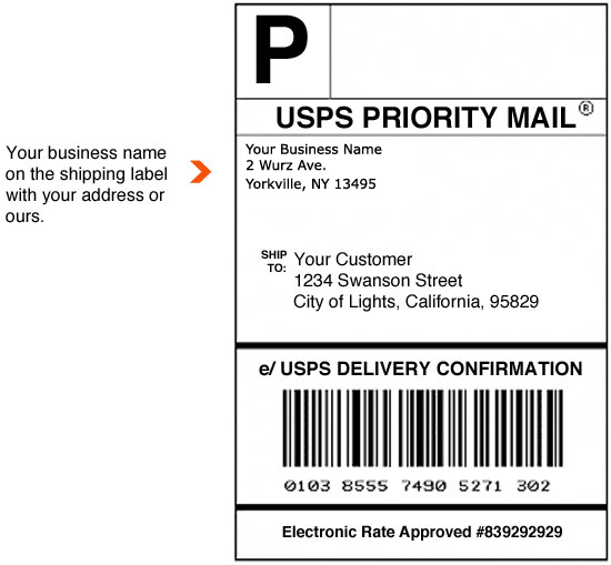 shipping label with return address template shipping label copy