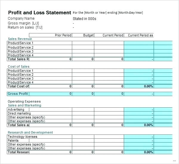 profit and loss statement pdf   SampleBusinessResume.
