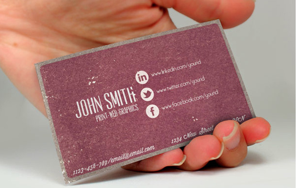 How To: Make a Business Card with Social Networking Info
