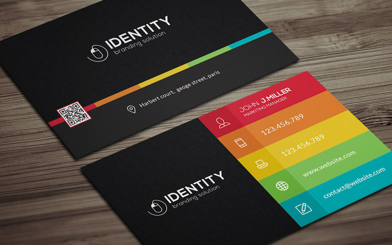 Social media business card template choice image business cards ideas social media on business card emmamcintyrephotography social media on industry card flashek choice image flashek Gallery