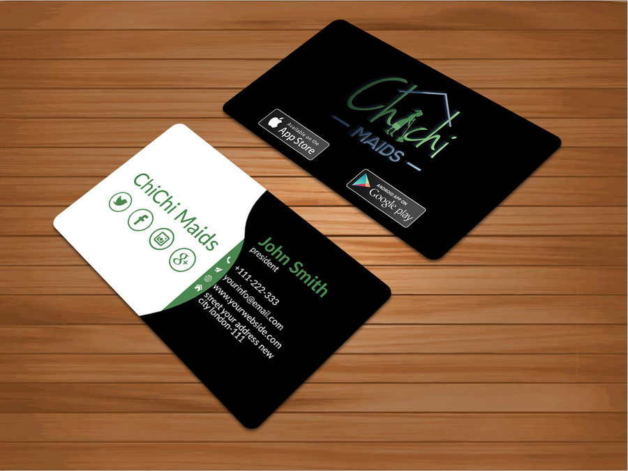 Entry #21 by bakhtear05 for Design modern business card with