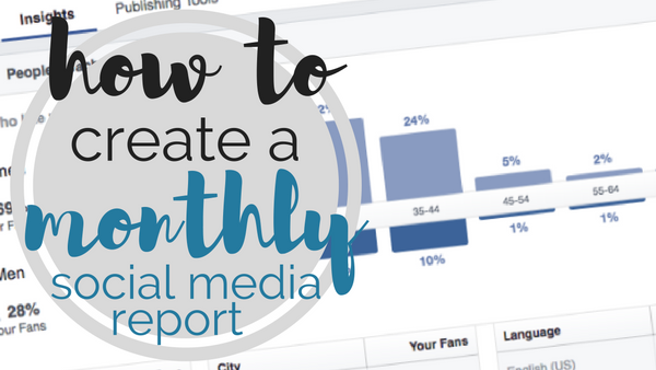 TEMPLATE] How to Create a Monthly Social Media Report