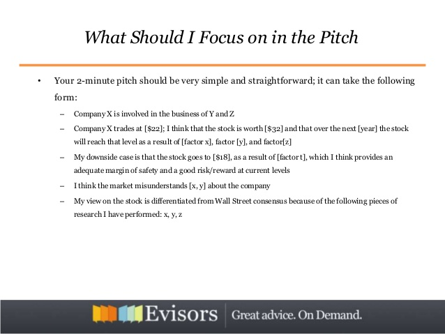 Oil & Gas Stock Pitch: How to Write and Present It