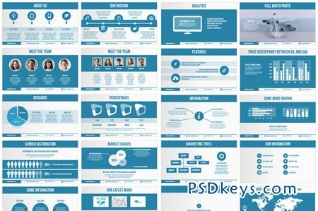 stock pitch powerpoint template universal pitch deck two