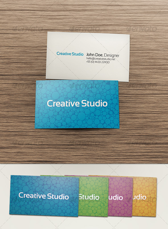 Double Sided Business Card by AlexBeltechi | GraphicRiver