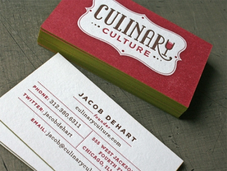 Showcase of Double Sided Business Cards   DesignM.ag