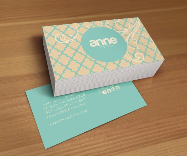Two Sided Business Cards (2) – Card Design Ideas