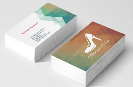 Two sided Business Cards – Soko Printing Press