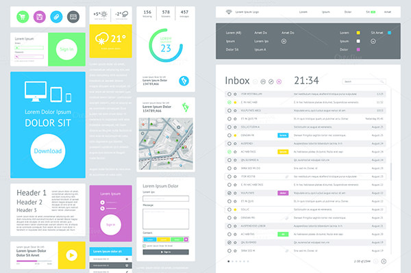 user interface template   Roho.4senses.co