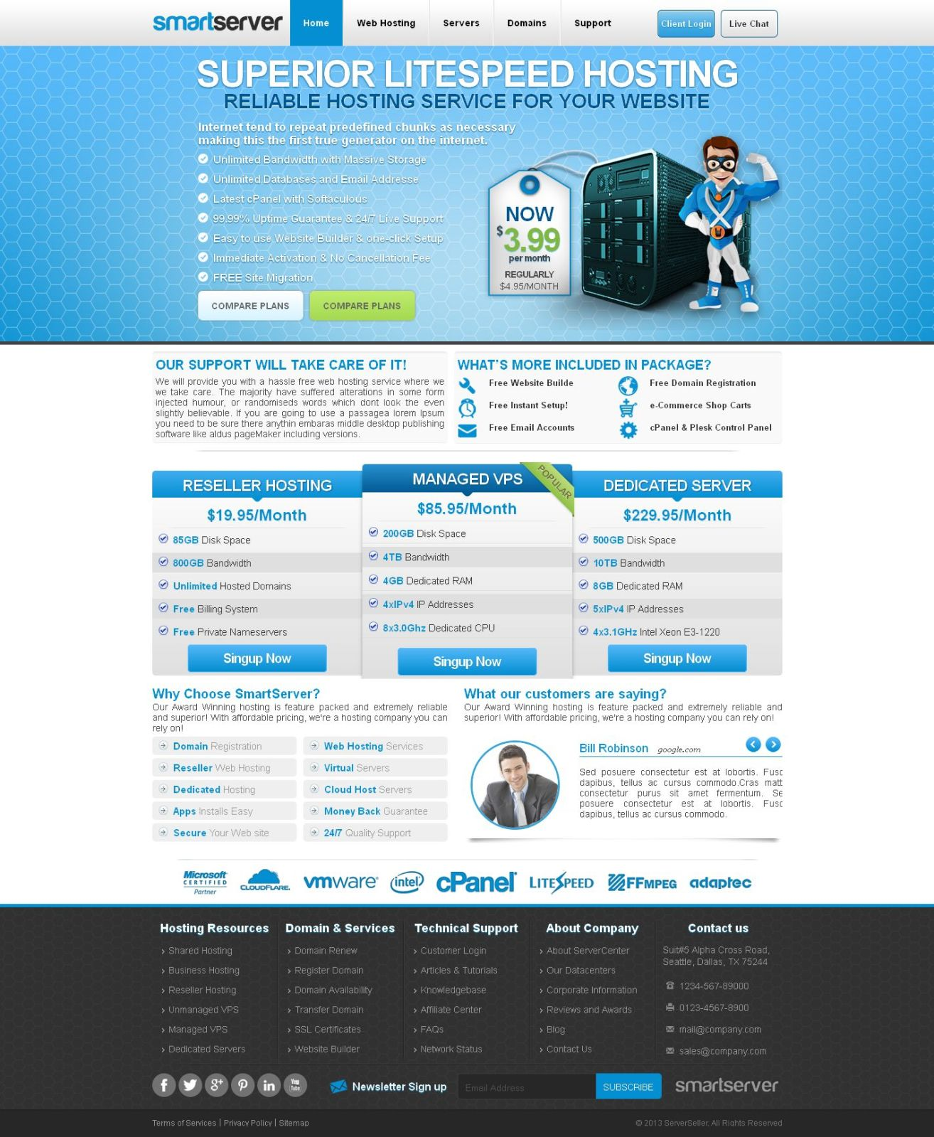 web hosting templates   Physic.minimalistics.co