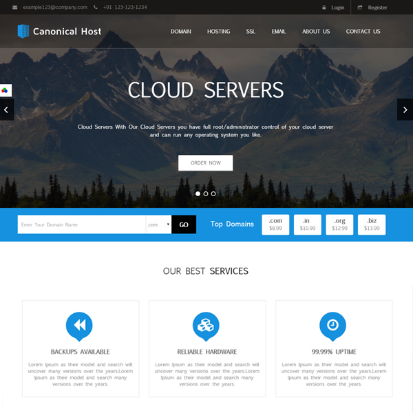Best HTML Hosting Templates & Themes | ThemeChilly
