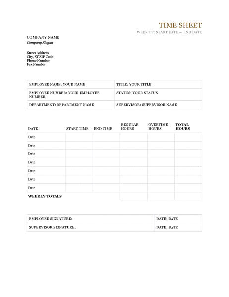 timesheet template microsoft word weekly time sheet with task and