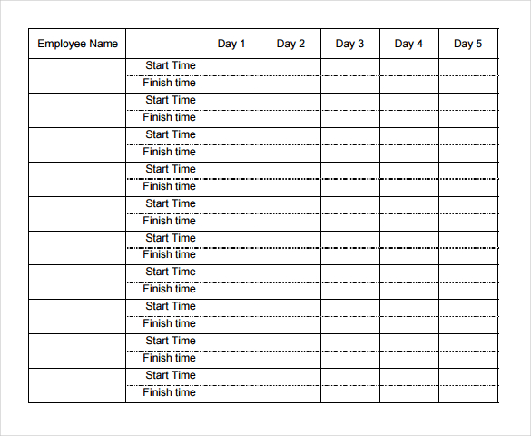 21+ Weekly Timesheet Templates – Free Sample, Example Format