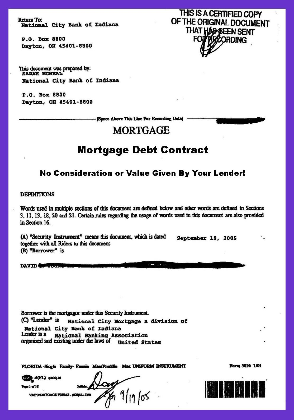 In Mortgage Debt? Your Lender Stole Your Mortgage Note! | Strawman